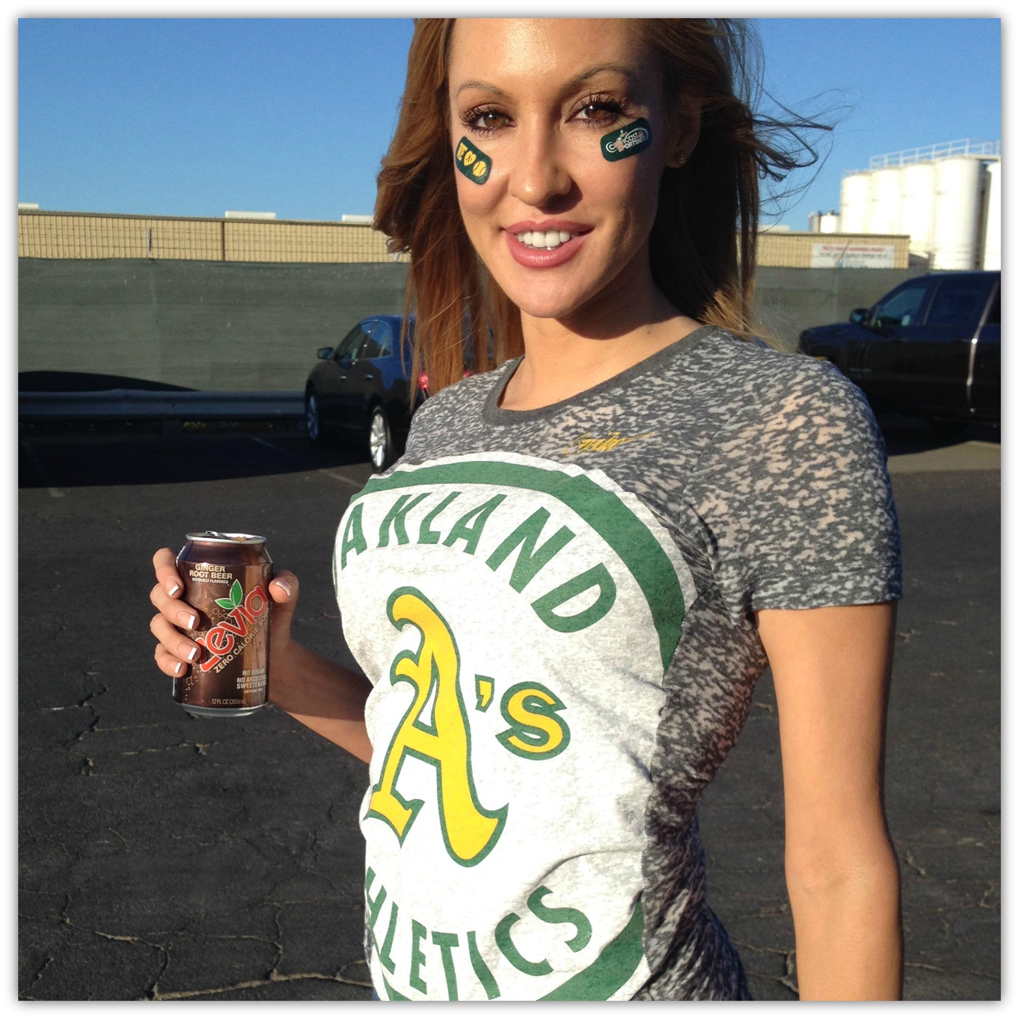 Christina Loren At Oakland A S Root Beer Float Night Nbc